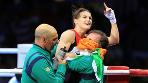 Katie Taylor has won Ireland's first gold medal of the London Olympics