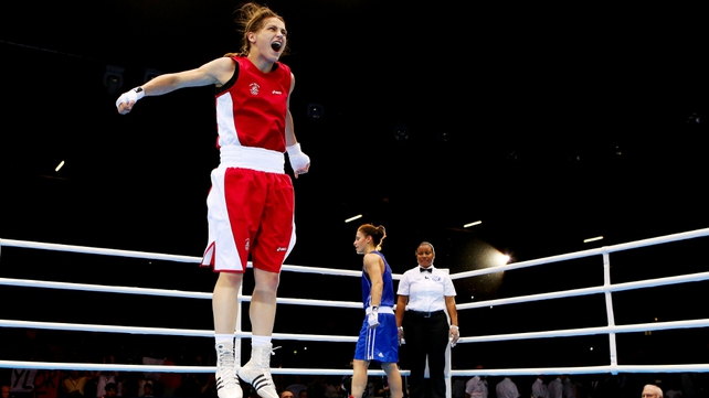 It is the first Olympic Games in which women competed inside the boxing ring