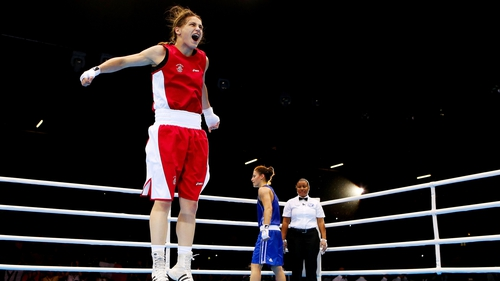 Katie Taylor showcased women's boxing at London 2012