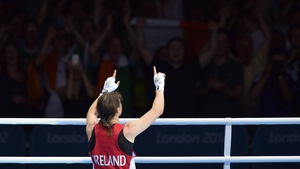 The 26-year-old thanked the Irish crowd for their superb support for the duration of London 2012