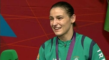 Katie Taylor speaks of her Olympic victory
