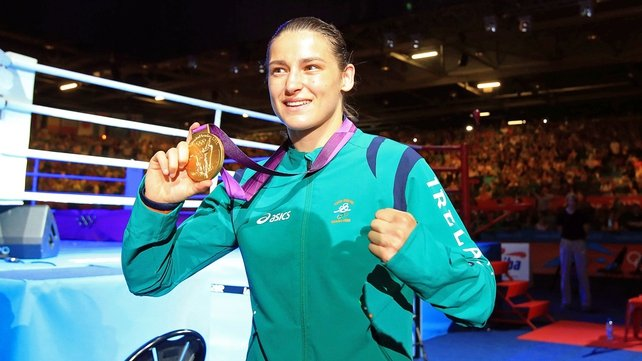 The London 2012 lightweight Olympic champion: Katie Taylor