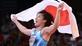 Wrestling: Yoshida completes hat-trick