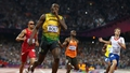 Athletics: Bolt blazes to Olympic double-double