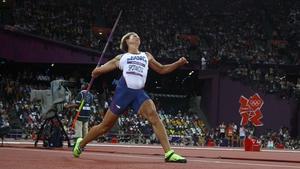 Barbora Spotakova has defends her Olympic javelin gold
