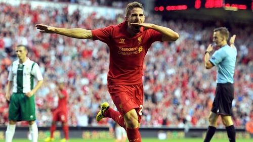Fabio Borini is set for an extended spell on the sidelines