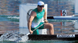 Andrzej Jezierski will compete in the C1 200m B final on Saturday morning