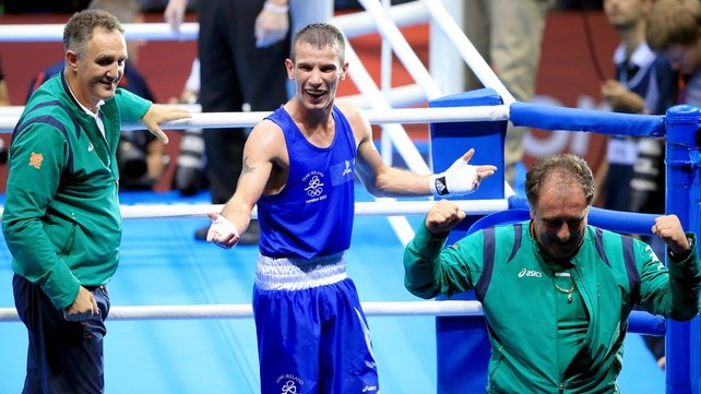 John Joe Nevin's main aim is to win gold at the Rio 2016 Olympics