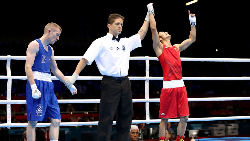 Day 14: Paddy Barnes fought with bravery against Zou Shiming in the light flyweight semi-finals, losing on a countback 45-44. The Belfast boxer therefore settling for bronze