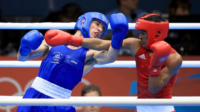 John Joe Nevin will box for a gold medal  at 8.45pm