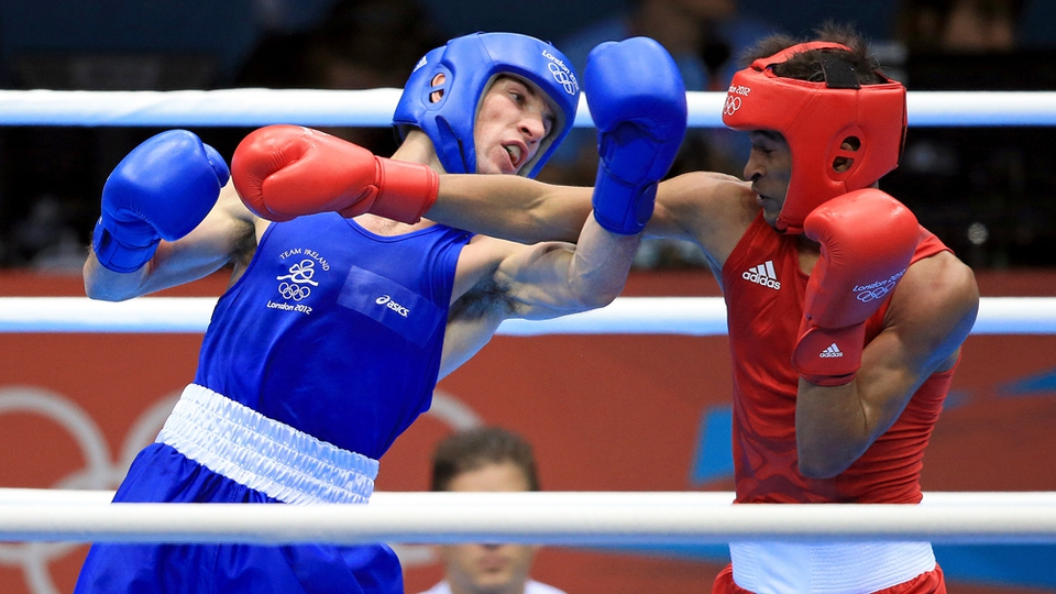 Boxing took centre stage as John Joe Nevin beat Cuban Lazaro Alvarez Estrada for a place in the bantamweight final