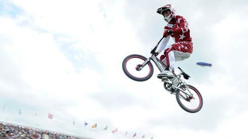Maris Strombergs has retained his Olympic BMX title