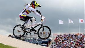 Mariana Pajon claimed an impressive win in the BMX final