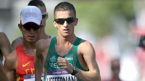 Rob Heffernan will no doubt look to improve on his fourth place in the 50k at the London Games