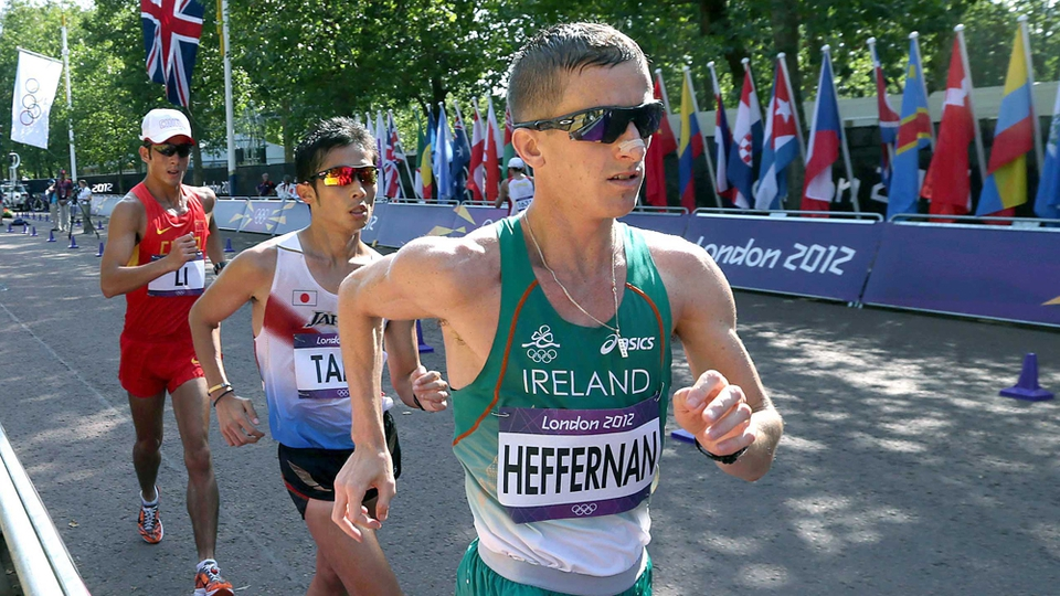 Day 15: Rob Heffernan placed fourth in the 50km walk
