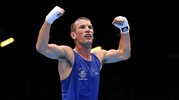 John Joe Nevin fell short in his bid for gold
