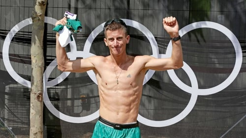 50km walker Rob Heffernan earned his accolade as athlete of the year
