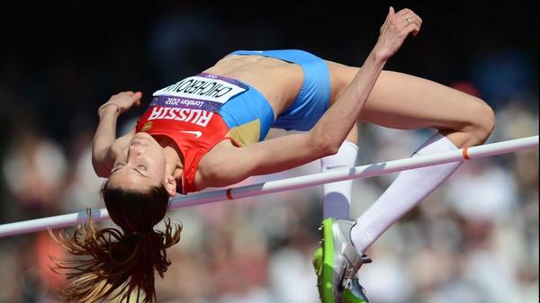 Anna Chicherova won medals in Beijing and London