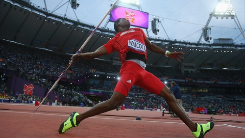 Keshorn Walcott on his way to gold