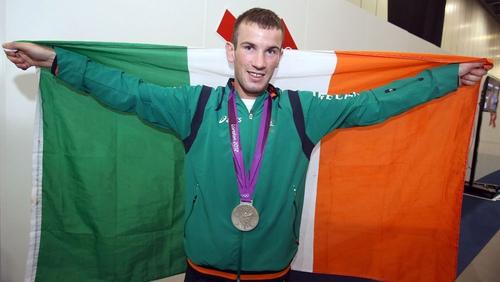 John Joe Nevin won a silver medal at the 2012 Olympics in London