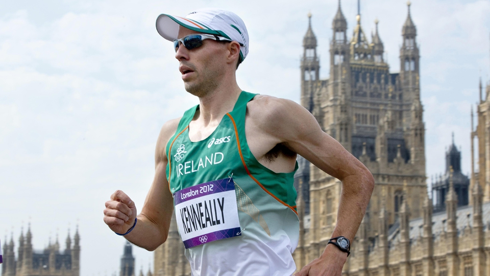 Day 16: Mark Kenneally came home 57th in the marathon