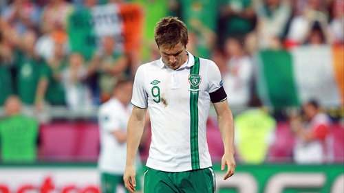 Kevin Doyle found out he was no longer part of the Ireland squad via text message