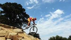 Jose Antonio Hermida Ramos of Spain in action during the men's mountain bike race