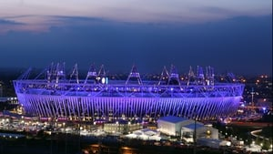 A general view of the Olympic Stadium during the closing ceremony of the 2012 London Olympic Games