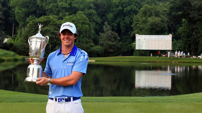 Rory McIlroy's US Open victory earned him a sport at the Grand Slam of Golf, but he won't be taking it up
