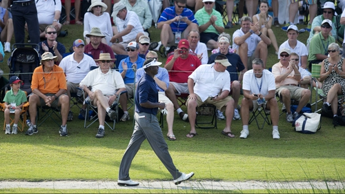 Vijay Singh leads the PGA Tour BMW Championship