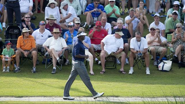 Vijay Singh leads the PGA Tour BMW Championship