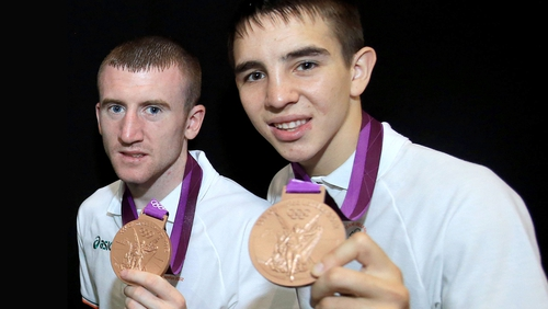 Paddy Barnes and Michael Conlan are part of the Irish team