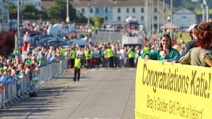 Huge crowds turned out for Katie Taylor's return to Bray