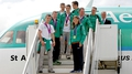 Celebrations as Irish Olympic team arrives home