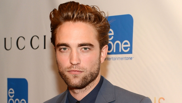 Pattinson - pictured at last night's premiere of Cosmopolis in New York