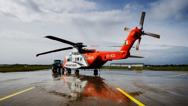 The Shannon-based coast guard may be used to ferry engineers and parts to the stricken vessel