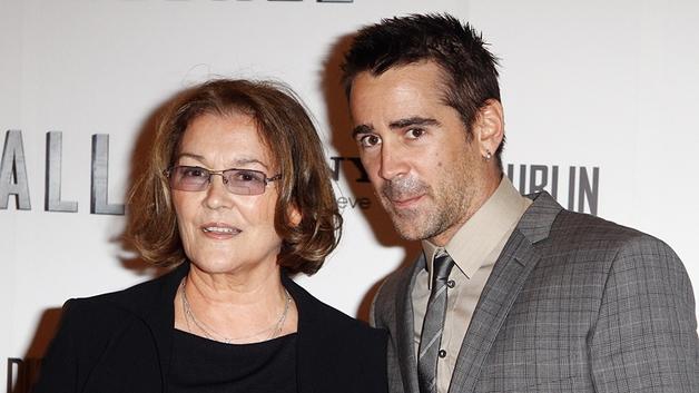 Colin Farrell and his mother Rita Farrell
