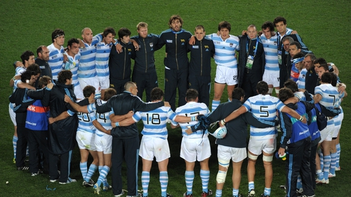 Argentina are unchanged for their game with New Zealand