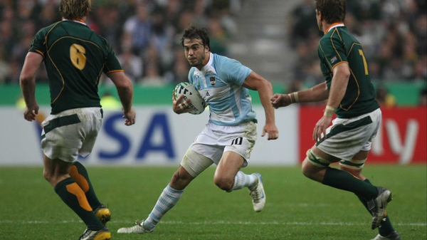 Juan Martin Hernandez and Argentina join the Tri Nations to make up the Rugby Championship