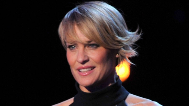 Robin Wright gave up treats in support of fiancé