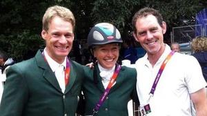 Mark Kyle, Aoife Clarke and Joseph Murphy in London