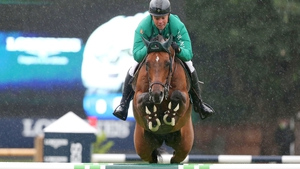 Cian O'Connor is competing on Blue Loyd at the RDS this week