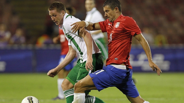 James McCarthy will have given the Ireland boss a selection headache ahead of the World Cup qualifying campaign