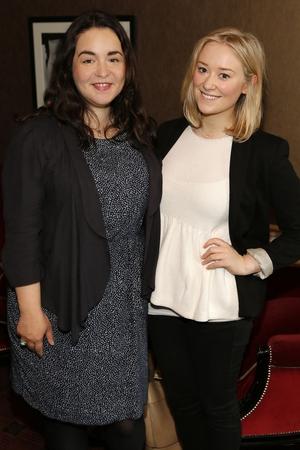 Emma Henderson and Julie Kirwan