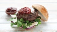 Dermie's Tomato Relish Hamburgers... - One of the most popular recipes on my food blog is my burger recipe where I added in a few tablespoons of Ballymaloe Relish into the mix. Any good quality tomato relish will do but I find 'Nash19' or 'Ballymaloe Country Relish' to be the best.