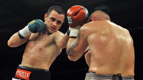 Henry Coyle (l) has 17 professional wins under his belt