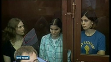 Pussy Riot members sentenced in Russia