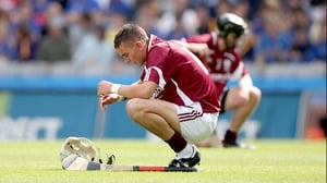 It was heartbreak for Darragh Dolan and his Galway team-mates as they lost 2-16 to 1-14