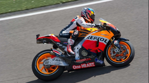 Dani Pedrosa recorded a comfortable victory in Indianapolis