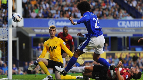Marouane Fellaini was the star of the show for Everton